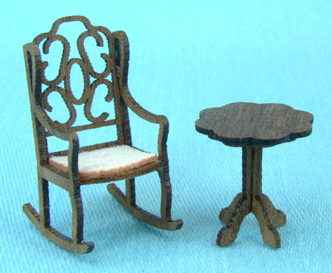 B j minis items i m - Rocking chair jardin ...